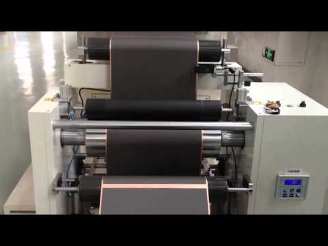 LGT650-18 Lithium battery production Vertical type coater machine