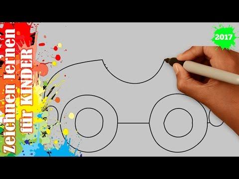 Auto zeichnen 5 in 50s – Zeichnen lernen für anfänger & kinder