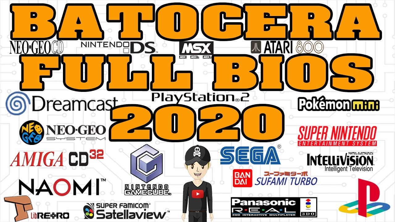 BIOS BATOCERA 5 23 - PACK FULL BIOS AMIGA 32CD NEOGEO CD 3DO ATARI 5200  NAOMI DREAMCAST and more