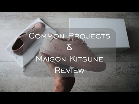 COPPED/ REVIEW (Common Projects & Maison Kitsune)
