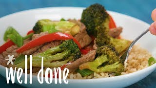 How To Make Quick Mongolian Stir-Fry | Recipe | Well Done