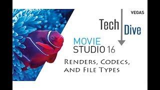 Movie Studio 16 Platinum: Render Guide