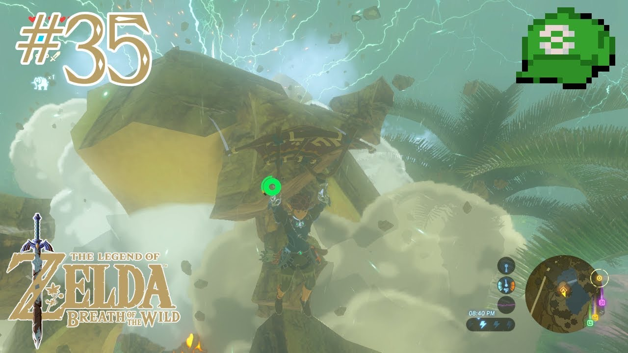 Legend Of Zelda Breath Of The Wild 35 A Song Of Storms Youtube