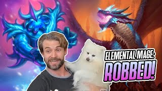 (Hearthstone) Elemental Mage: Robbed!