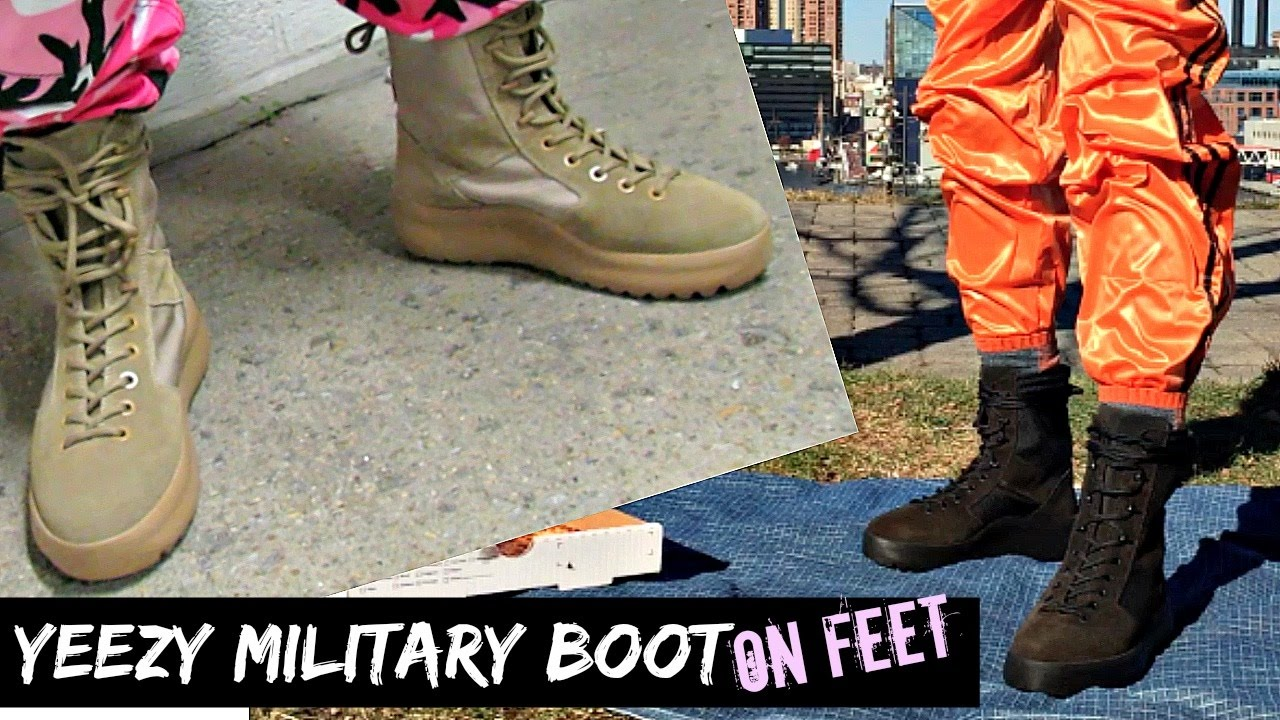 a1c89ce28 YEEZY Season 3 Rock   Onyx Military Boot