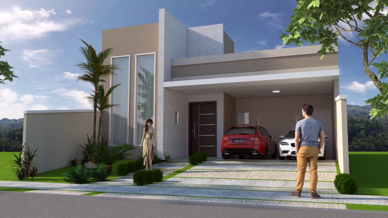 planta pronta casa terrea 170 metros 10x25 03 suites youtube