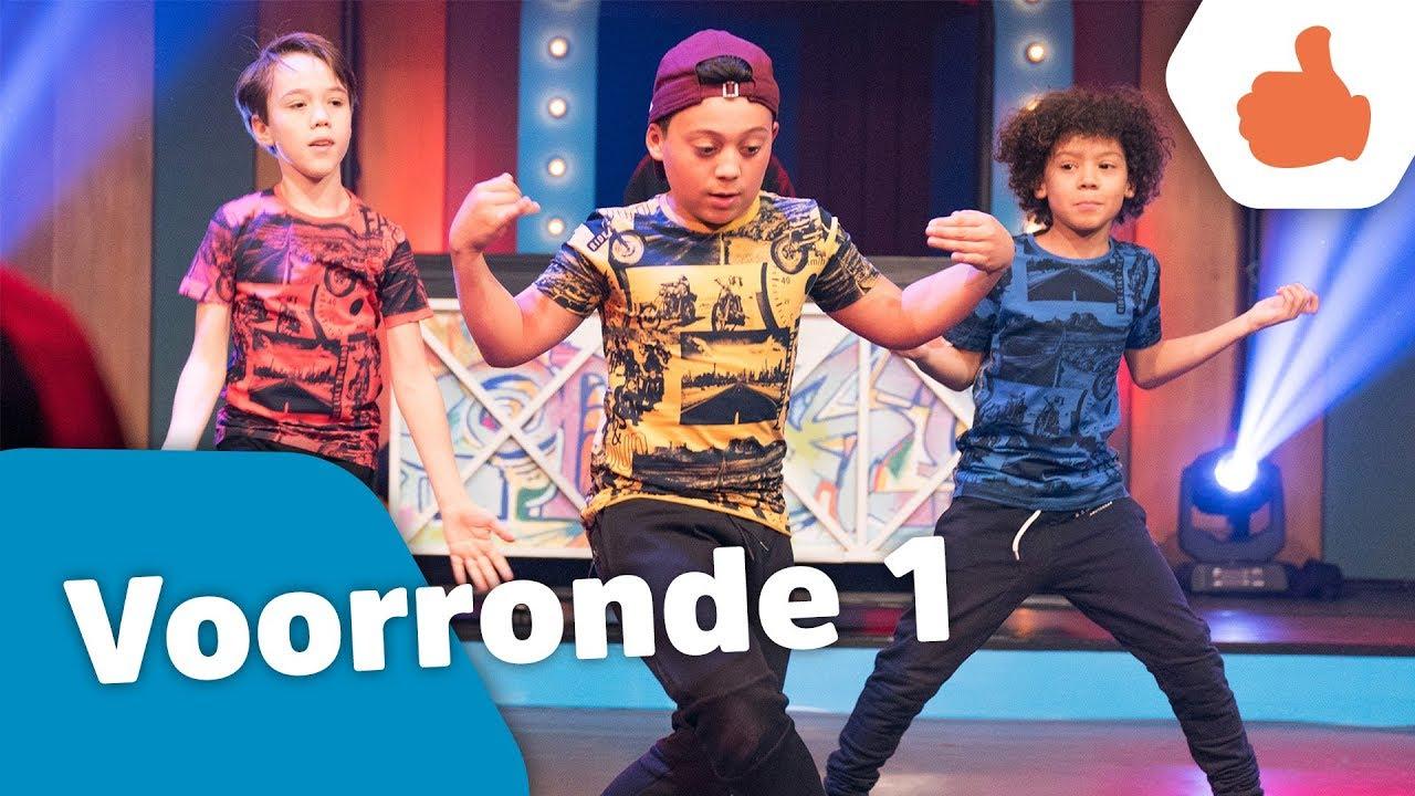 okido podium aflevering 1 voorrondes kinderen voor