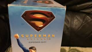 Superman Returns: Superman Bust - Hand-Painted, Cold-Cast, Porcelain Bust.