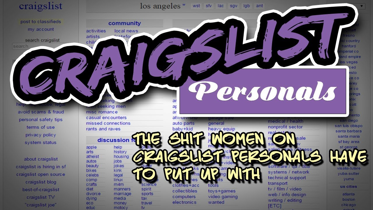 craigslist los angeles personals w4m