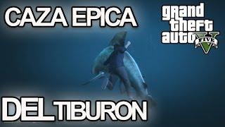 CAZA EPICA DEL TIBURON!!! - GTA V - [LuzuGames]