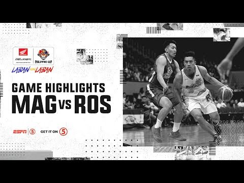 HIGHLIGHTS: Magnolia vs. Rain or Shine - OT THRILLER Semis Game 7 (VIDEO)