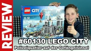 LEGO City #60130 Polizeirevier auf der Gefängnisinsel - Review - Lets Built thumbnail