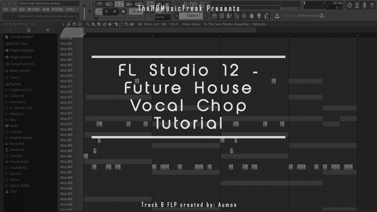 Fl studio 12 future house vocal chop tutorial flp for Classic house vocal samples