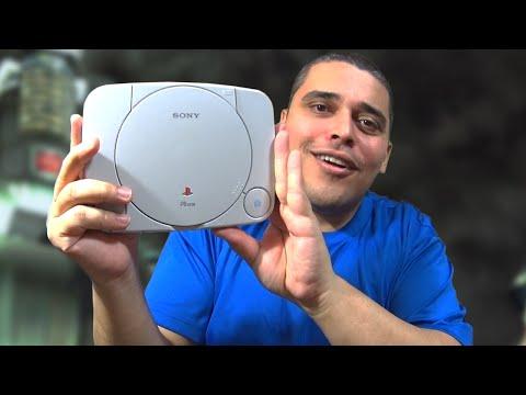 Playstation One - Reunboxing do Pequenininho da Sony e Comparação com o Grandão