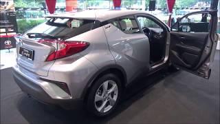 Toyota C-HR (2017-2018) Exterior & Interior