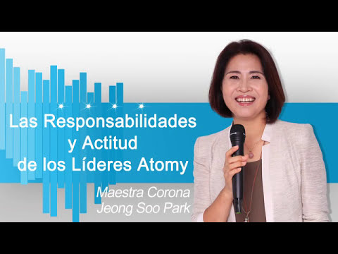 Maestra corona Jeon Soo Park Las responsabilidades de los lideres de Atomy