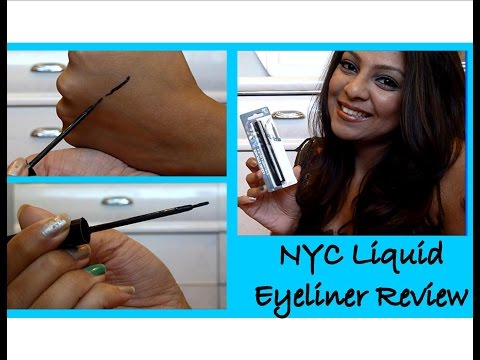 NYC Liquid Eyeliner Review + Swatch