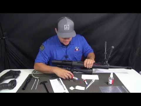 Gun lubrication - The AR-10 with Military Munitions Specialist Alex Murillo using MOA