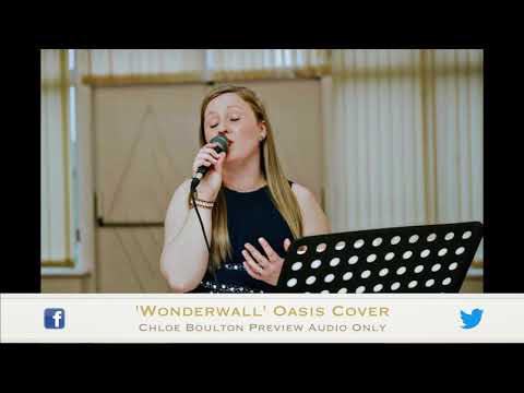 Wonderwall | Oasis Cover by Chloe Boulton | Preview Audio Only