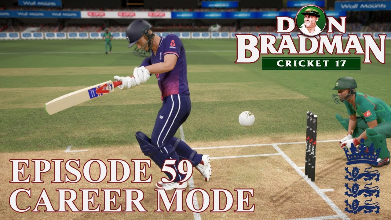 DON BRADMAN CRICKET 17 | CAREER MODE #59 | THE FINALE! (ODI DEBUT)