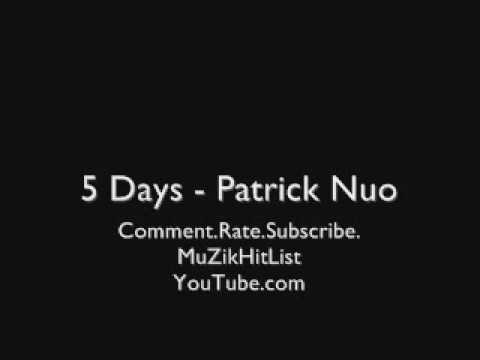 5 Days - Patrick Nuo [HQ]