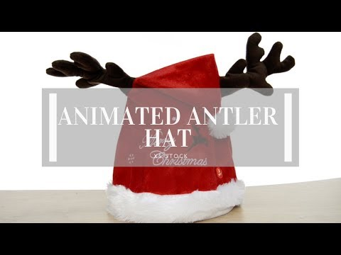 Animated Antler Hat