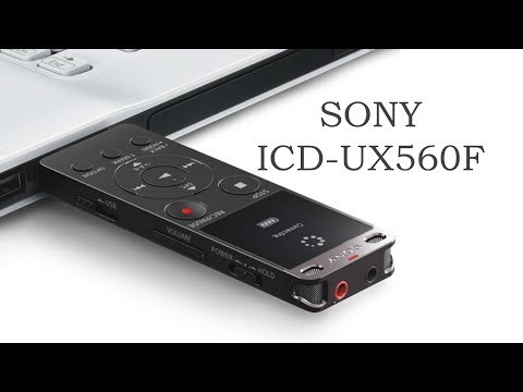 Sony ICD UX560F, Stereo IC Recorder