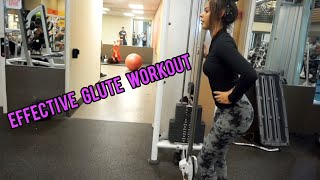 fast and effective GLUTE work out!