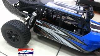 tommotor man- Sand Racer Buggy Brushless 1/8-Ep.6