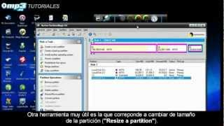 Cómo crear particiones de disco sin formatear con Norton Partition Magic - Tutorial - Mp3.es