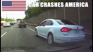 car crashes in america 2017   bad drivers usa 4   north american driving fails