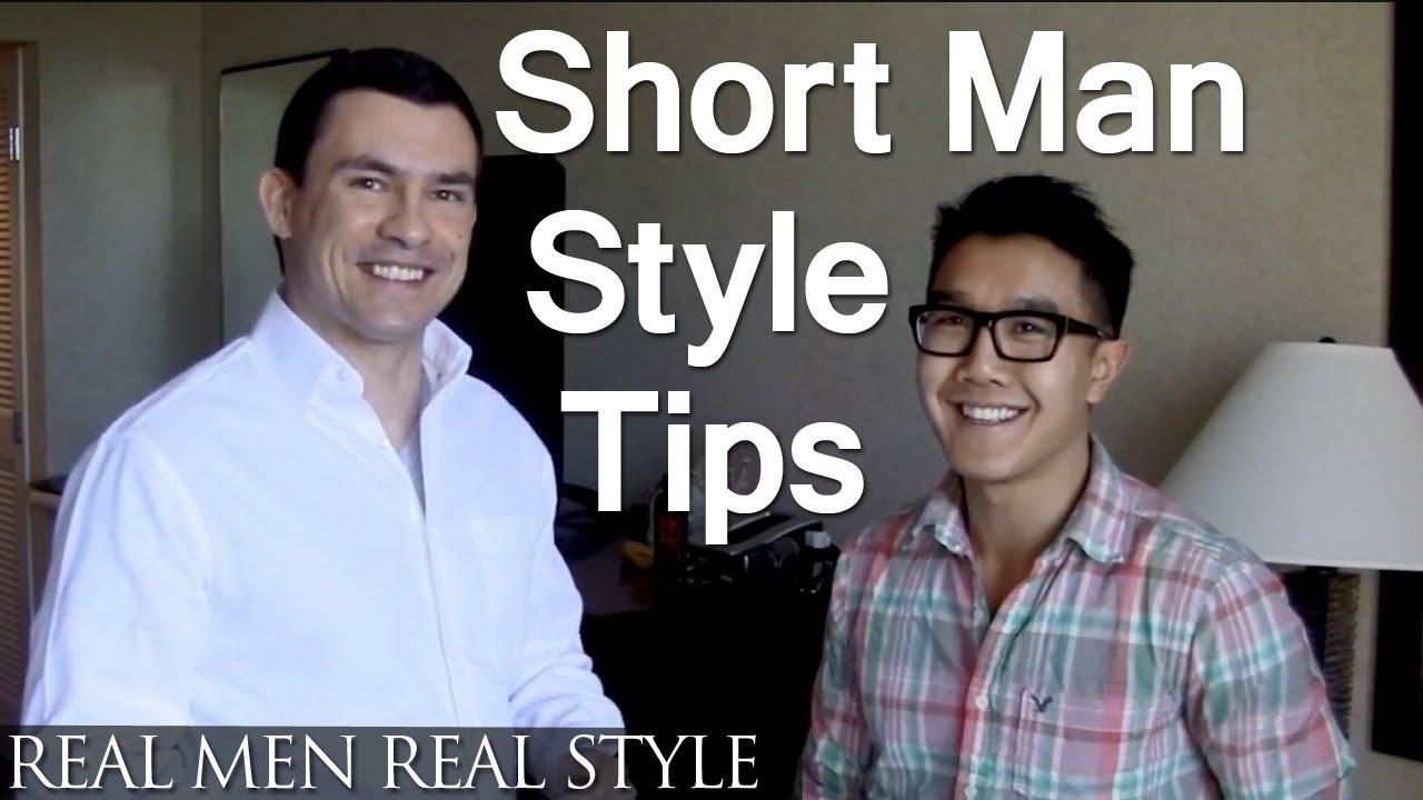 Short Men Style Tips