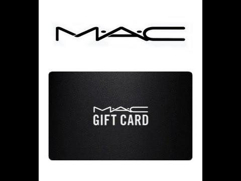MAC Gift Card Giveaway Winner!!! - YouTube
