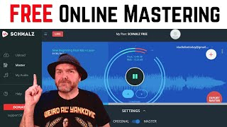 How to MASTER you songs online for FREE (with Schnalz.com)
