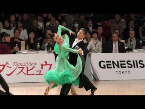 4K 2017 WDSF World Open Standard in Tokyo | Minato Kojima - Megumi Morita, JPN | SLOWFOXTROT