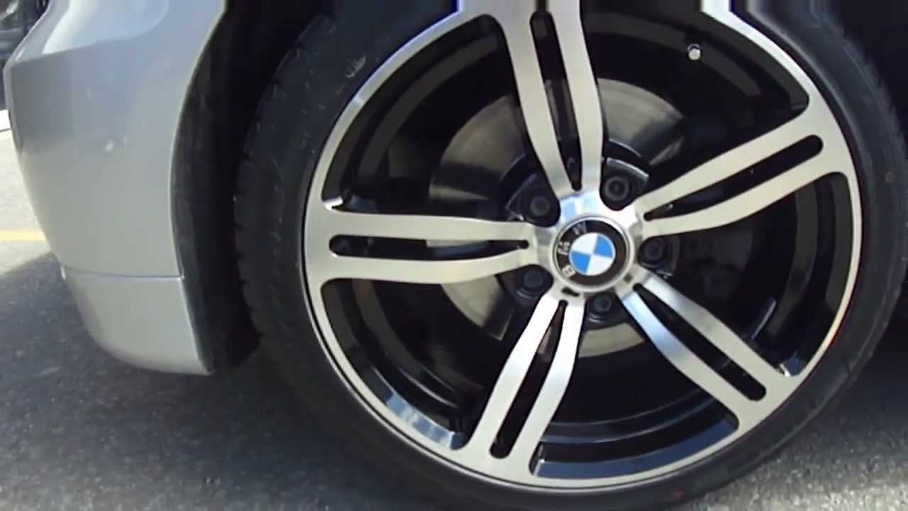 HILLYARD CUSTOM RIMTIRE 2007 BMW 3 SERIES WITH 18 M6 REPLICA