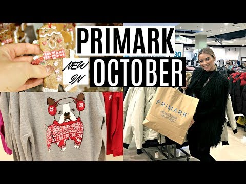 NEW IN PRIMARK OCTOBER 2018! / CHRISTMAS/HALLOWEEN COLLECTIONS!