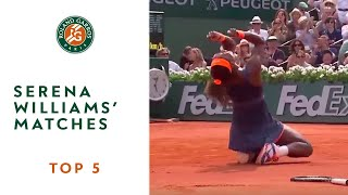 Top 5 Serena Williams