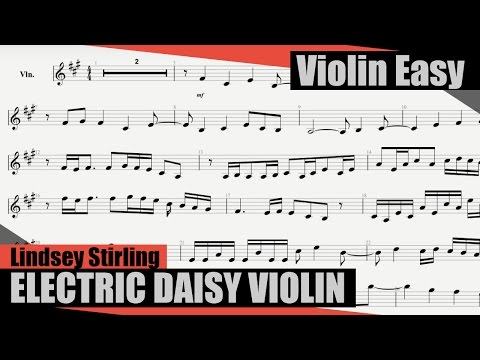 Lindsey Stirling - Electric Daisy Violin [Violin Tutorial]