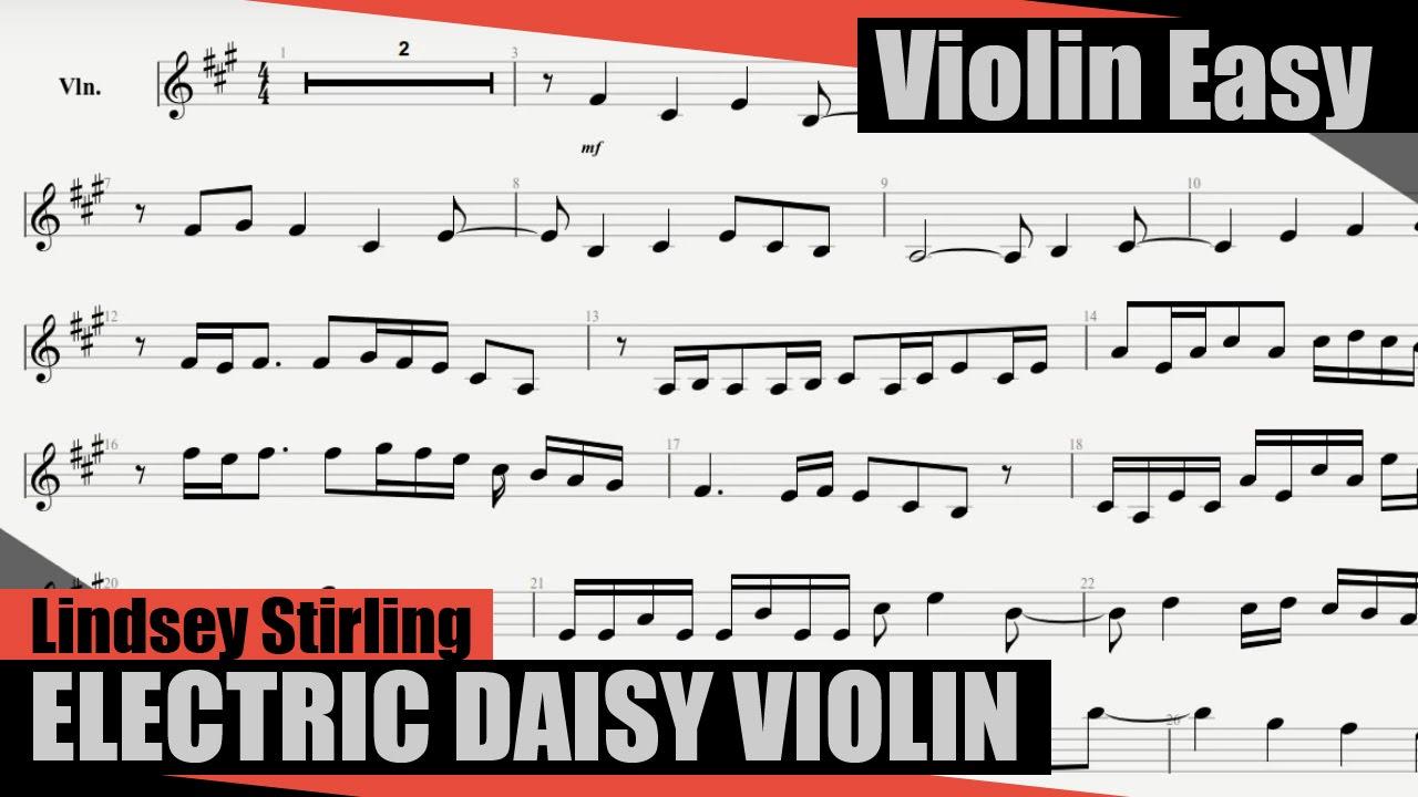 lindsey stirling transcendence sheet music pdf