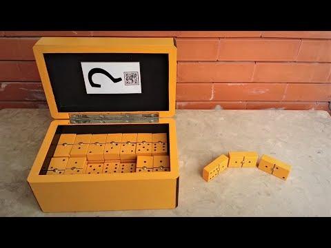 DIY Wooden Domino