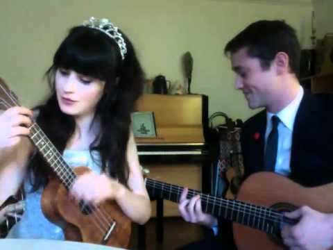 VCK | Zooey Deschanel & Joseph Gordon-Levitt | What Are You Doing New Years Eve? | HelloGiggles Mp3