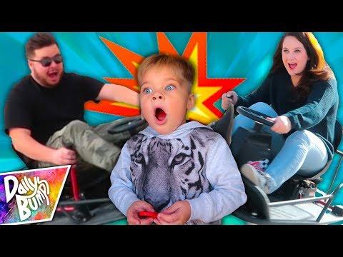 CRAZY DRIFT CART CRASH!
