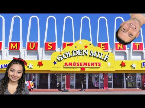 What will we win at Golden Mile Amusements?