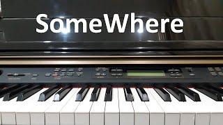 Hướng dẫn SOMEWHERE July | Piano cover Easy | Đinh Công Tú