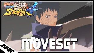 Naruto Ultimate Ninja Storm 4 - Obito COMPLETE Moveset
