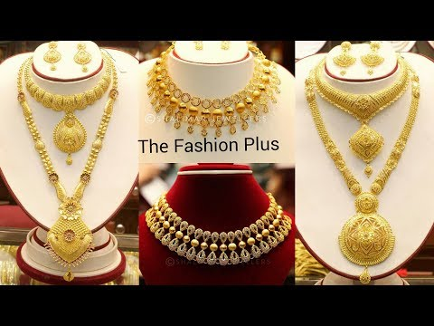 9caa8e44a Latest Bridal Gold necklace Collection, Download or watch Y2mate