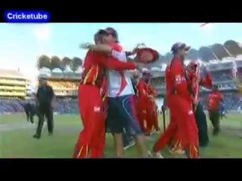 2013Twenty Twenty Cricket final Between The Highveld Lions and Nashua Titans