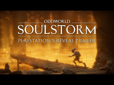 Oddworld: Soulstorm PlayStation 5 Reveal Trailer