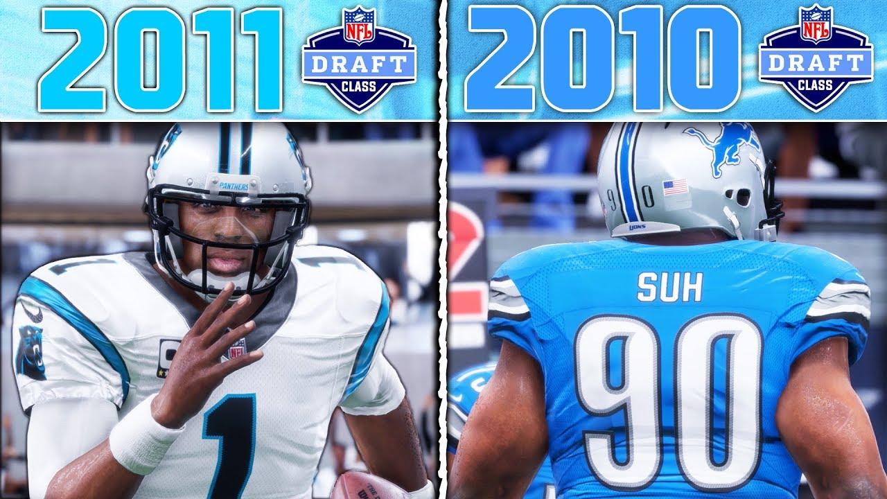 2011 NFL DRAFT CLASS vs 2010 NFL DRAFT CLASS | Madden 18 NFL Draft Class Game 4